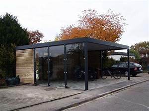 Doppelcarport Mit Abstellraum : design metall carport aus holz glas stahl blech mit ~ Articles-book.com Haus und Dekorationen