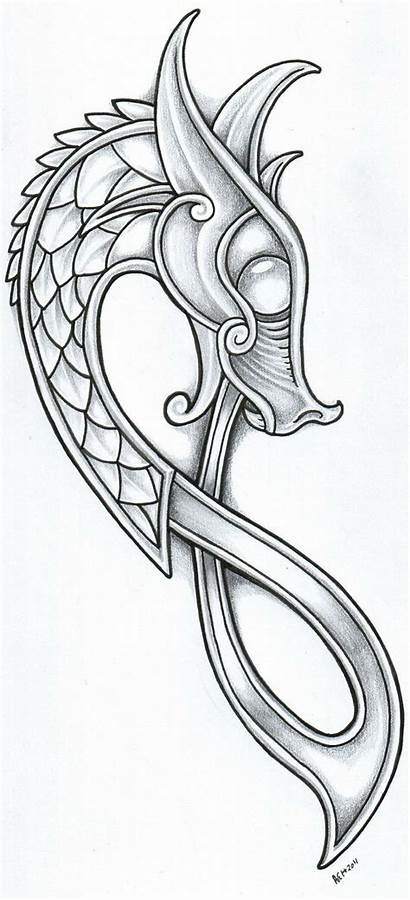 Designs Tattoo Celtic Dragon Viking Norse Chinese
