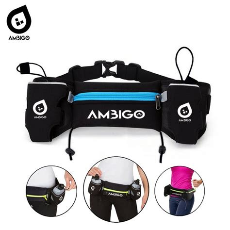jual ambigo tas pinggang olahraga lari tas