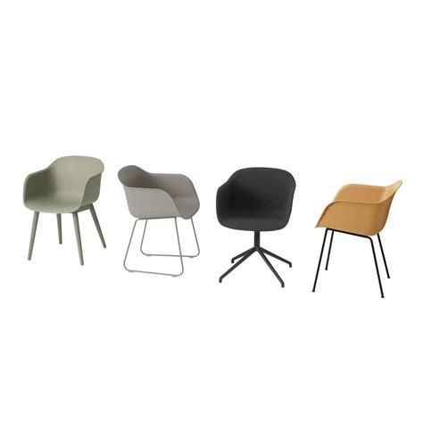 chaise muuto chaise fiber par muuto
