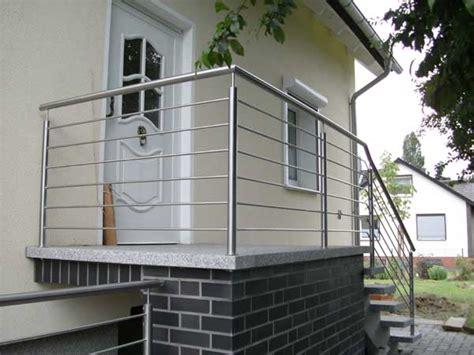 Treppengelaender Reparieren Schoen Und Sicher by Edelstahl Gel 228 Nder F 252 R Aussentreppe Mit Relingst 228 Ben