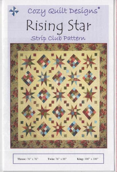 cozy quilt designs pattern rising star jordan fabrics