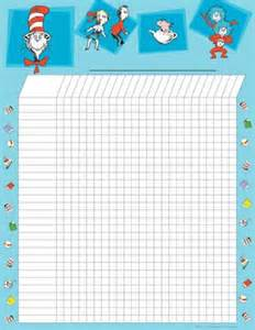Printable Attendance Charts for Kids