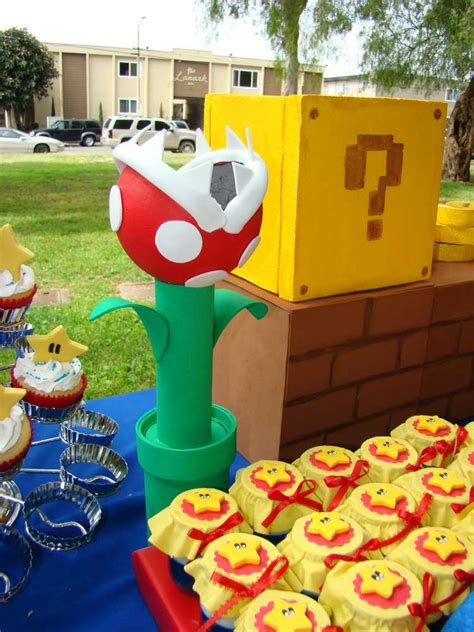 super mario brothers birthday party ideas photo
