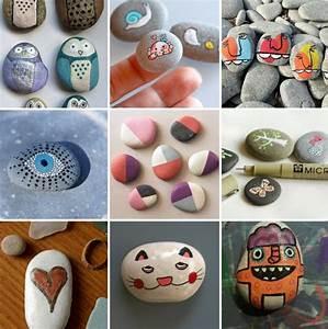 Steine Bemalen Zum Basteln Mit Naturmaterialien 50 Ideen