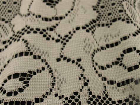 Lace Drapery Fabric by Lace Valance Drapery Fabric Albert S Window Fashions