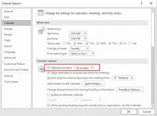 Tip 436 FreeBusy and Reminder Defaults Outlook Tips