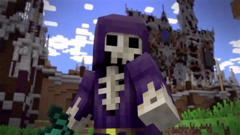 epic minecraft animation herobrine  dreadlord youtube