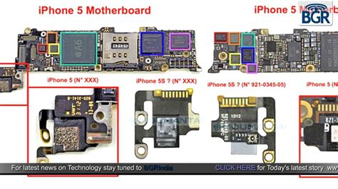 iphone 5 motherboard alleged iphone 5s motherboard photos leaked point at an