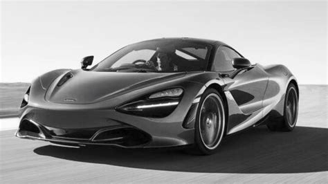 How To Draw The All New Mclaren 720s Youtube