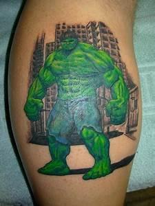 Motivational Designs Superhero Tattoos Damn Cool Pictures