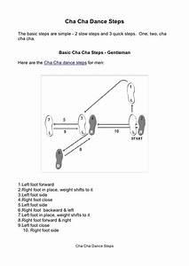 Diagram Of Cha Cha Steps