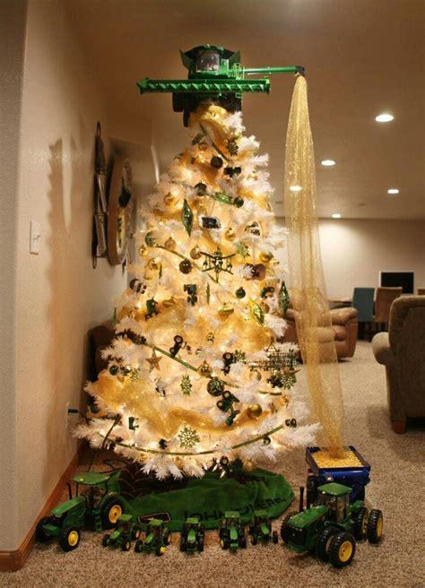 cool tree  loves john deere christmas pinterest
