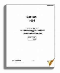 Case W14  After 9119672  Service Manual