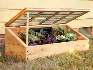 Fabriquer Une Serre En Bois : conseils pour fabriquer une serre de jardin ~ Melissatoandfro.com Idées de Décoration