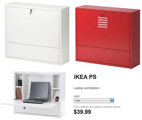 Wall Mounted Laptop Desk Ikea by Anthro Enook Vs Ikea Ps Notcot