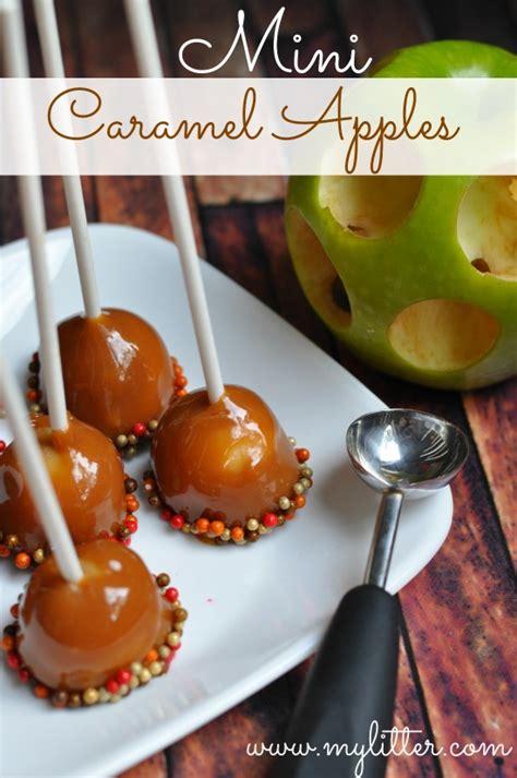 wonderful diy mini caramel apple