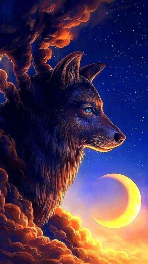fantasy wolf wallpapers  phone wolf wallpaperspro