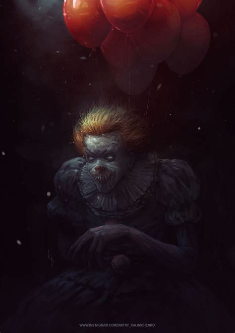 Background Digital Pennywise Clown Pennywise Wallpaper by Who Watched The Quot It Quot Write Your Feedback