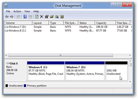 Windows 8 How To Create A New Hard Drive Partitions