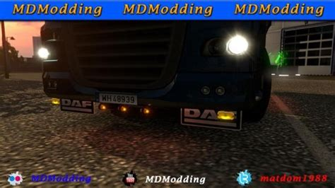 lobar daf 105 scs and 50keda 1 22 ets2 mods