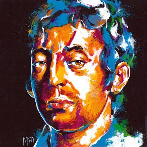oeuvre d unique serge gainsbourg 4 de l artiste dadao de style portrait