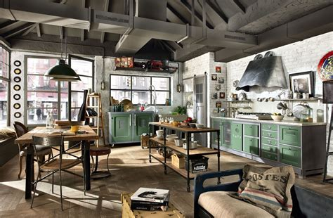 industrial home kitchen design 32 industrial style kitchens that will make you fall in 4663