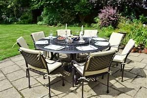 Table De Jardin Ronde En Bois : table de jardin ronde ~ Dailycaller-alerts.com Idées de Décoration