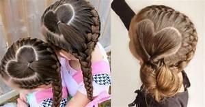 Coiffure Enfant Tresse : tresses coiffure simple et facile ~ Melissatoandfro.com Idées de Décoration