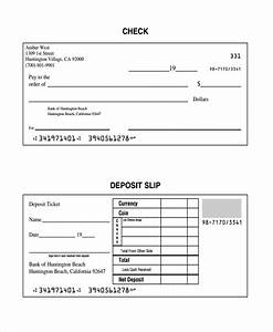 bank deposit slips template tolgjcmanagementco With checking deposit slip template