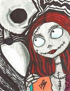 Like Jack And Sally · A Drawing · Art and Drawing on Cut