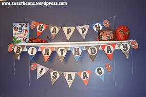 Diy pennant banner template for your next party sweetbeanz for Diy letter banner
