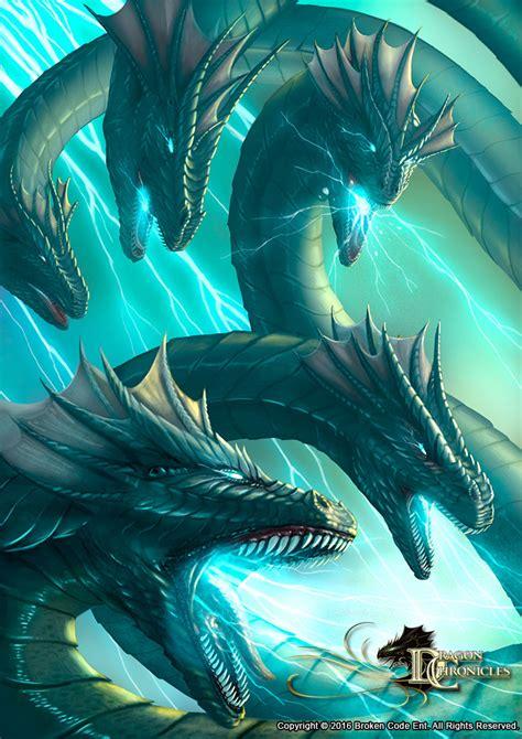 artstation lightning hydra dragon chronicles robert