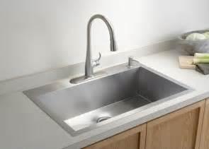 sink faucets kitchen single bowl kohler kitchen sink contemporary kitchen