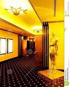 Cinema Theatre Lobby Stock Photography - Image: 8338322