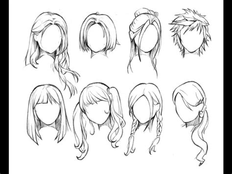 108 Best Images About Manga Hairstyles On Pinterest