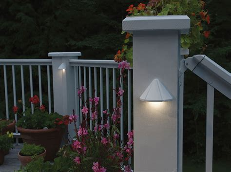 design pro led deck kichler landscape lighting