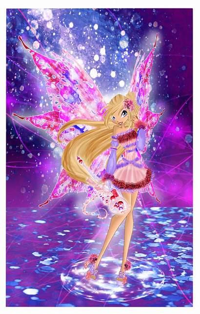 Estelle Mythix Winx Deviantart Dessindu43 Bloomix Samix