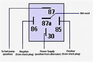 5 Wire Relay Schematic
