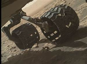 Mars Rover Studies Sand Ripples, Wheel Damage