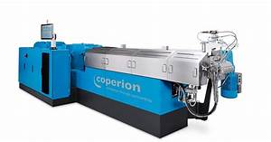 Revised Compact Version Of The Zsk Twin Screw Extruder
