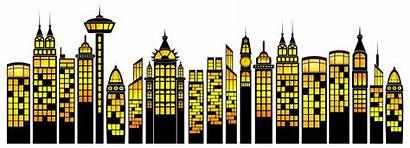 Clipart Building Superheroes Buildings Transparent Simple Easy