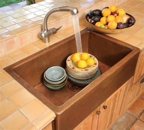 kitchen copper sinks terra acqua ballard apron front kitchen basin kitchen 3415