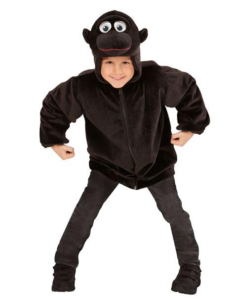gorilla kostüm kinder kapuzenjacke gorilla f 252 r kinder kost 252 me f 252 r kinder und