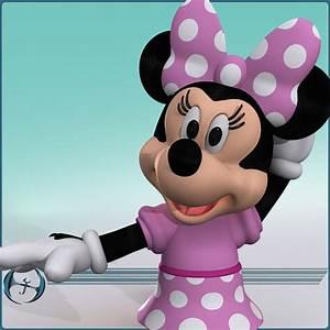 Minnie Mouse Möbel : 3d model of cartoon mouse minnie ~ A.2002-acura-tl-radio.info Haus und Dekorationen