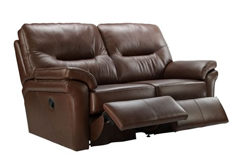 Modern Curtains For Living Room Uk by G Plan Washington Leather 2 Seater Double Recliner Sofa