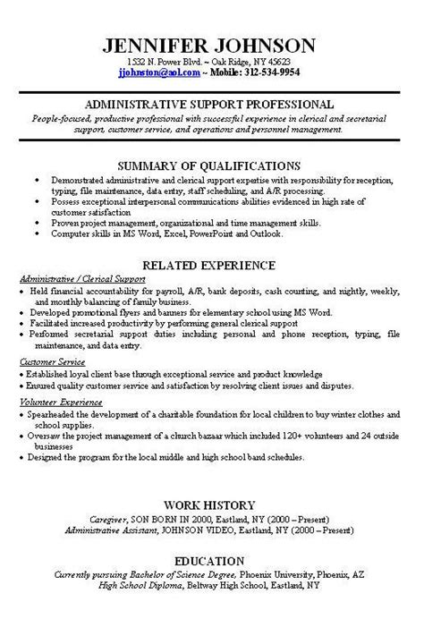 worked resume sample job resume examples resume