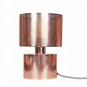 Lampe De Chevet Cuivre : lampe en m tal cuivr style industrielle demeure et jardin ~ Teatrodelosmanantiales.com Idées de Décoration