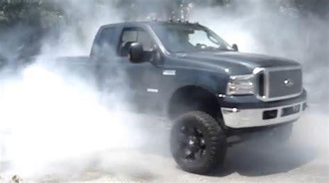 tire smokin tuned   puts   wild smoke show ford