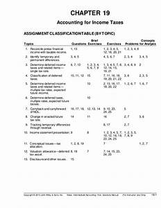 Ch19 Kieso Intermediate Accounting Solution Manual